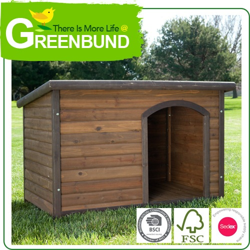 Pet Friendly Hous To Rent Wooden Kennel Dog Hut Wholesale 2016