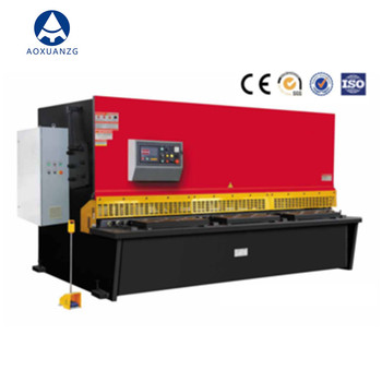 Hydraulic guillotine cnc sheet metal shearing machine,shearing machine price list