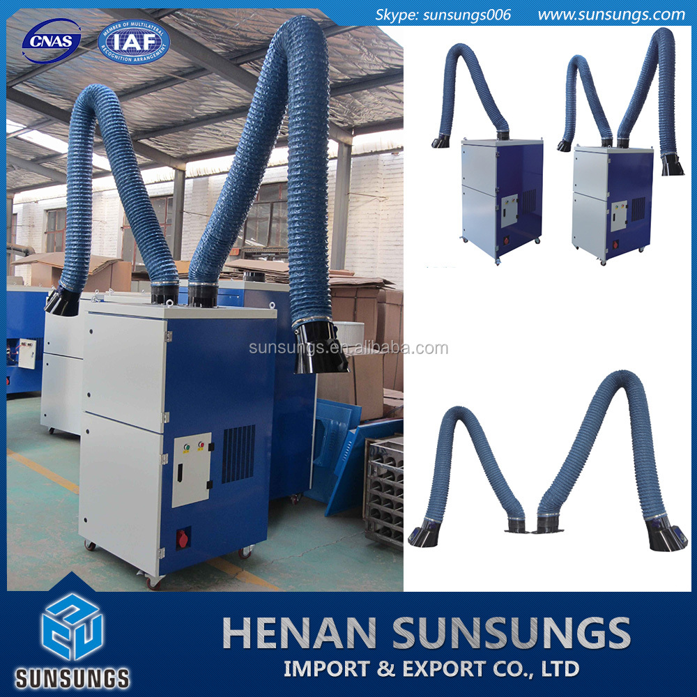 Mobile dust collector , Welding mist collector , Mobile fume extraction system