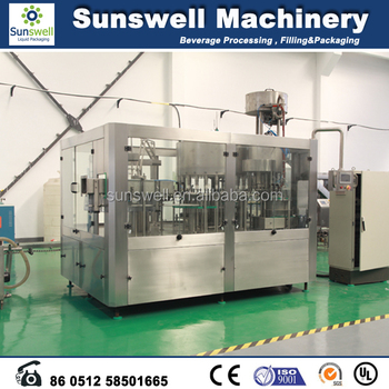 Full automatic drinking water production line/small bottled water production line