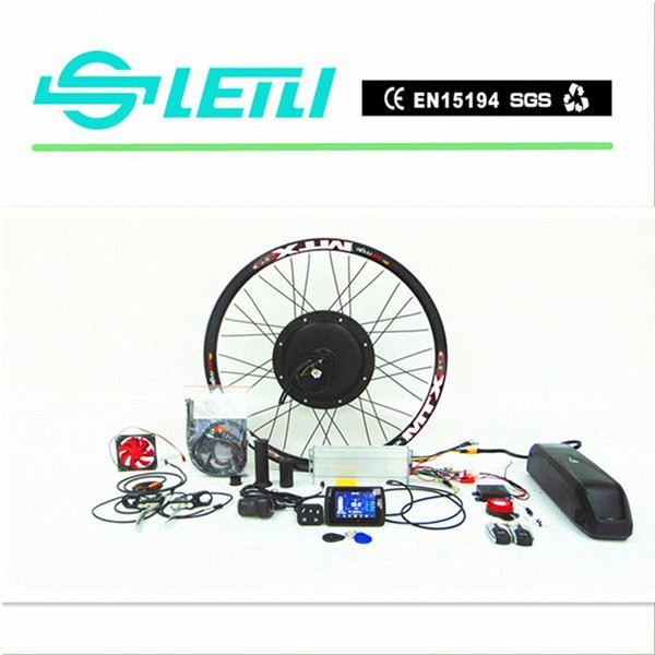 36V 500w Bafang Central Electric Bike Conversion Hub Motor Kits with the TFT display