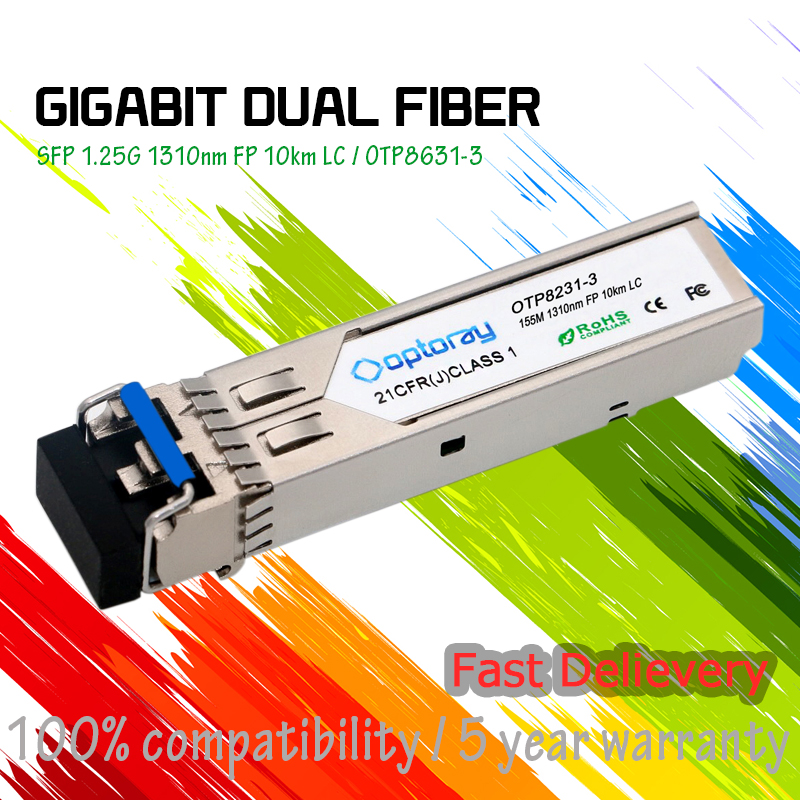 Cisco compatible GLC-FE-100LX= 155M 1310nm 10km sfp module transceiver LC SMF