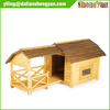 High quality outdoor wooden dog house with porch