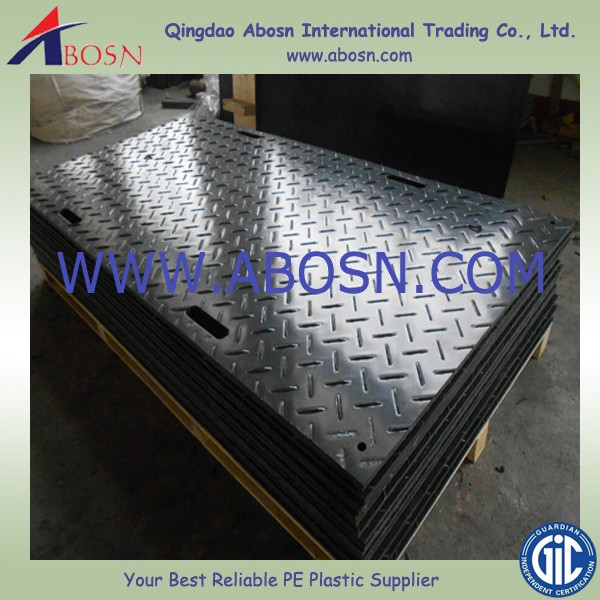 HDPE road mat/Temporary Floor Protection Materials/construction track road mat
