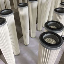 Cartridge Type Cylinder Filter For Pneumatic Transmission
