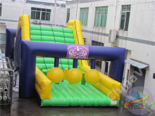 2017 new 5K insane inflatable obstacle course for adults,giant inflatable obstacle course