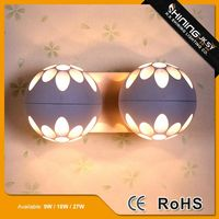 Energy saving modern style shell shape wall light