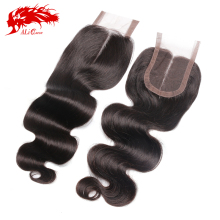 Aliexpress Ali queen hair top quality brazilian body wave cheap lace closure free shipping