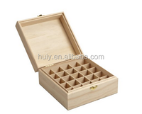 25 Slot Wooden Essential Oil Box/case, Perfect Essential Oil Storage/organizer case for travel and presentation