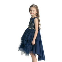 little queen flower girl <strong>dress</strong> little <strong>girl's</strong> fancy puffy party <strong>dress</strong>