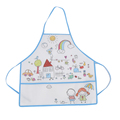 Non woven kids artist painting apron with pen pocket