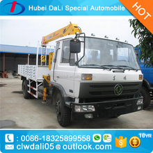 Dongfeng DFAC truck with crane 10 ton for sale