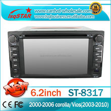 Central multimedia Car dvd gps radio for Toyota RunX(2003-2006)/Prado (1996-2009)/Terios(2006-2010)/Crown VITZ/sienta