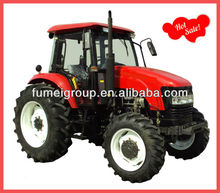 Hot sale 4x4 farm tractors 90hp