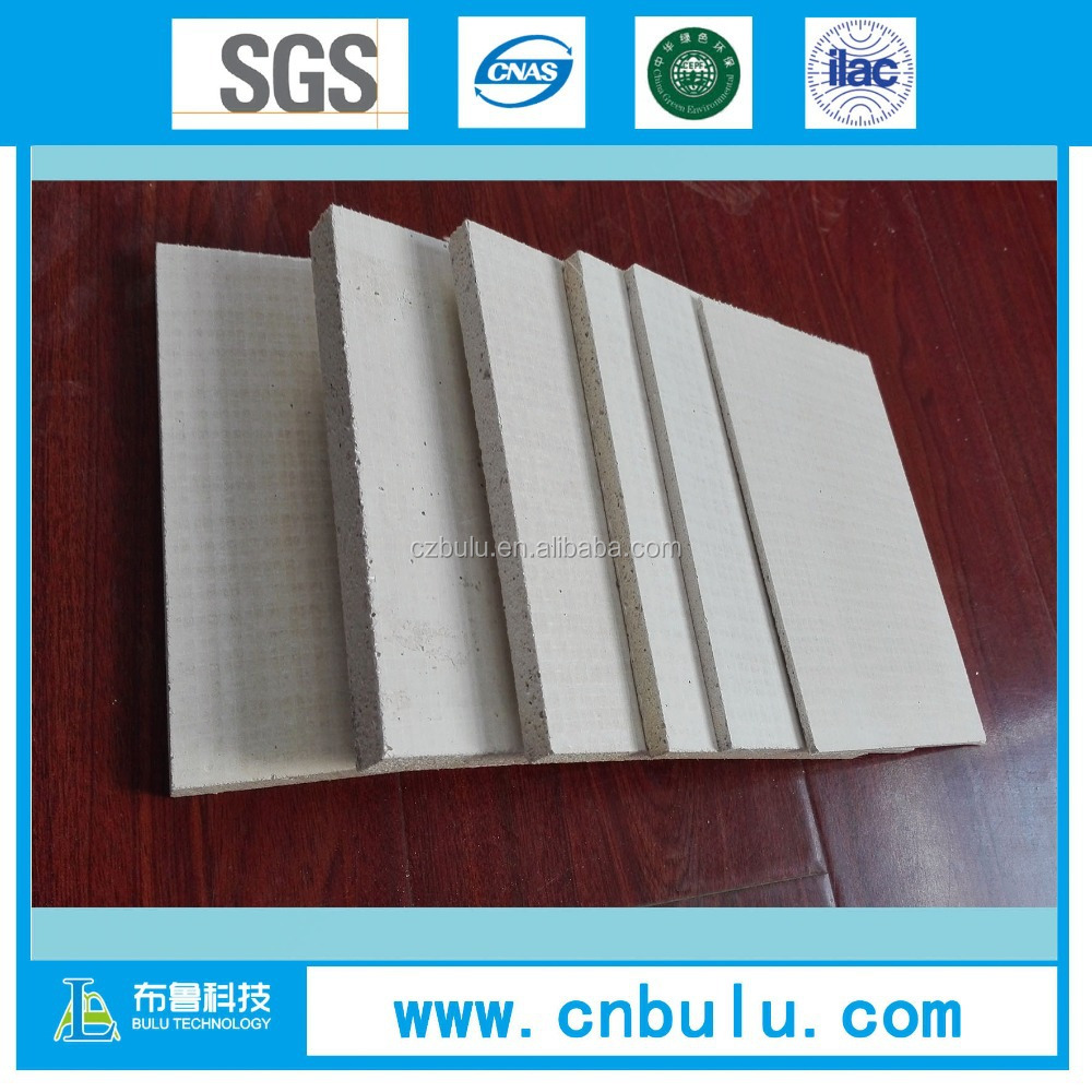 no sweating decorative wall panel/fireproof magnesium oxide board