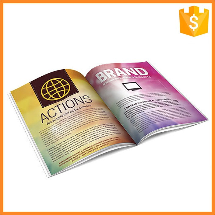 High Quality Low Cost Offset Printing Catalogue For Products Advertising