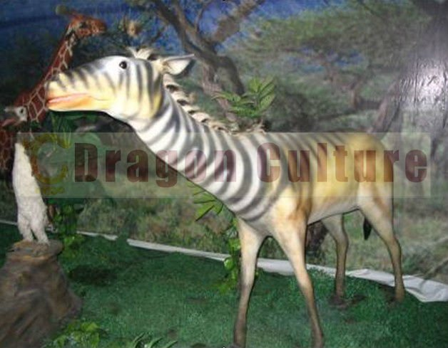 lifelike animals,zoos,fun park,attractive,animated quagga