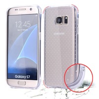 Cell Phone Accessories clear transparent Case Back Cover For Samsung Galaxy S7 S7 edge