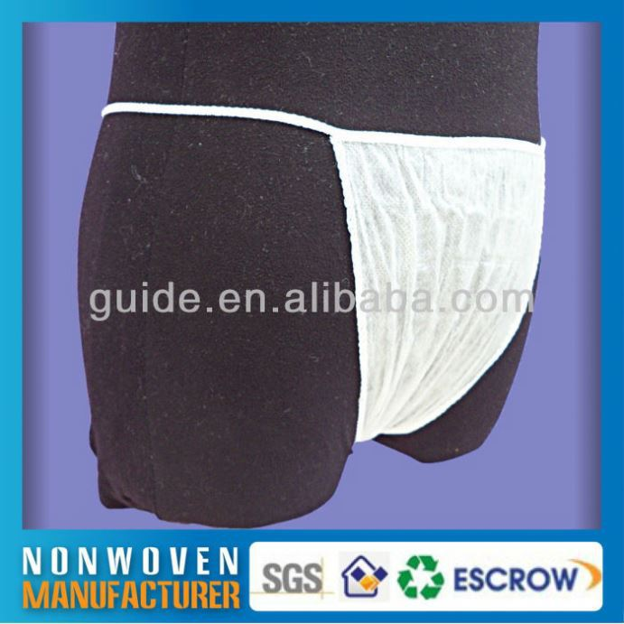 Nonwoven Girls Changing Underwear