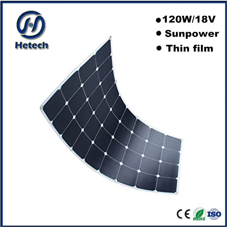 manufacturer china 120w flexible solar panel sheets