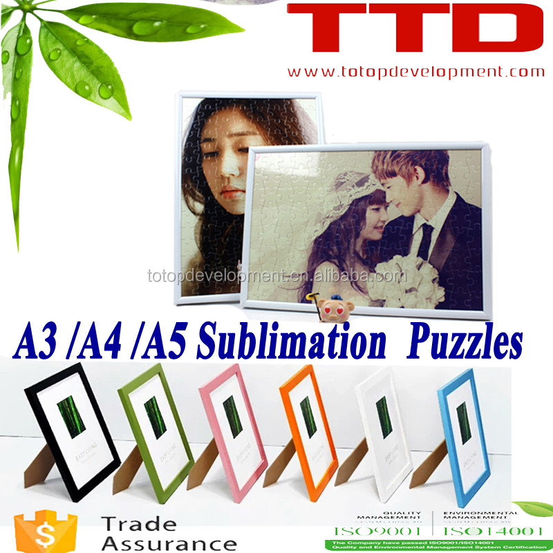 personalize design full color printing ,Paper puzzle jigsaws ,Sample available