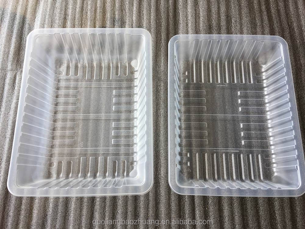 Promotion Price High Grade Free Samples Food Storage Plastic Tray For Vegetable