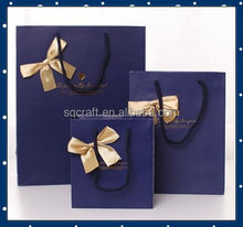 fashion gift paper carrier bags within company logo nice design&cheap price