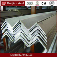 Steel equal angles hot rolled