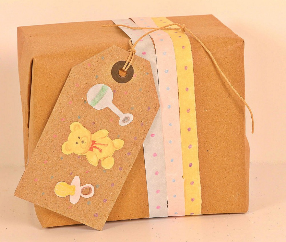 78GSM Gift packaging paper with unbleached and uncoated