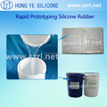 High transparency liquid silicone rubber for mold casting