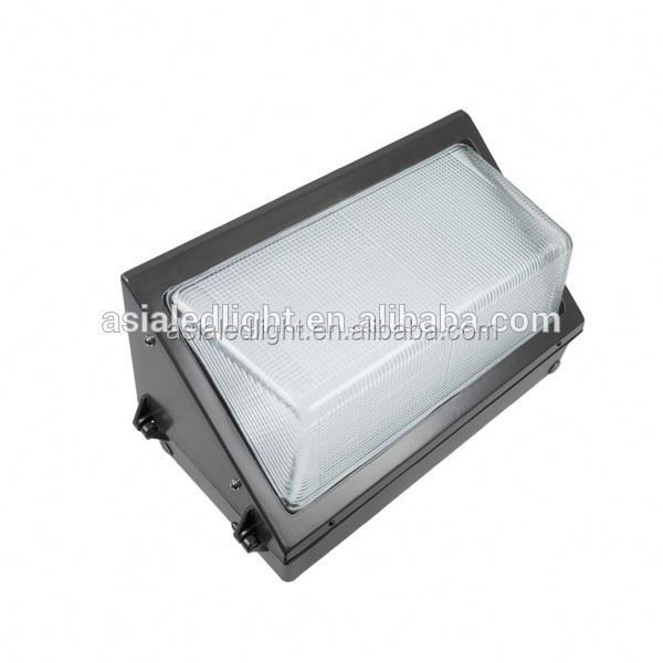 UL cUL DLC approved led wall pack IP65 5 years warranty architectural led wall pack
