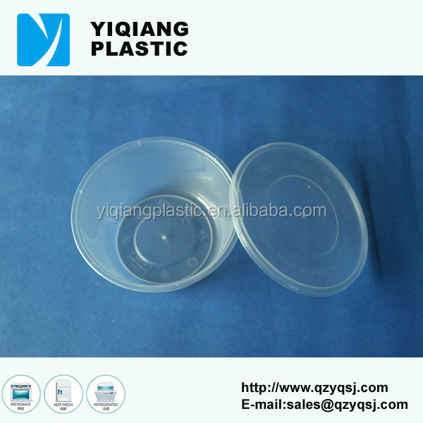 push airtight packaging of palm oil clear container
