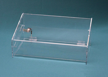 Clear Acrylic Double-Tray Display Case Box