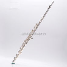 Chinese professional 16 open holes silver plated flute