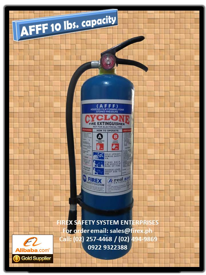 AFFF portable 10 lbs Fire Extinguisher