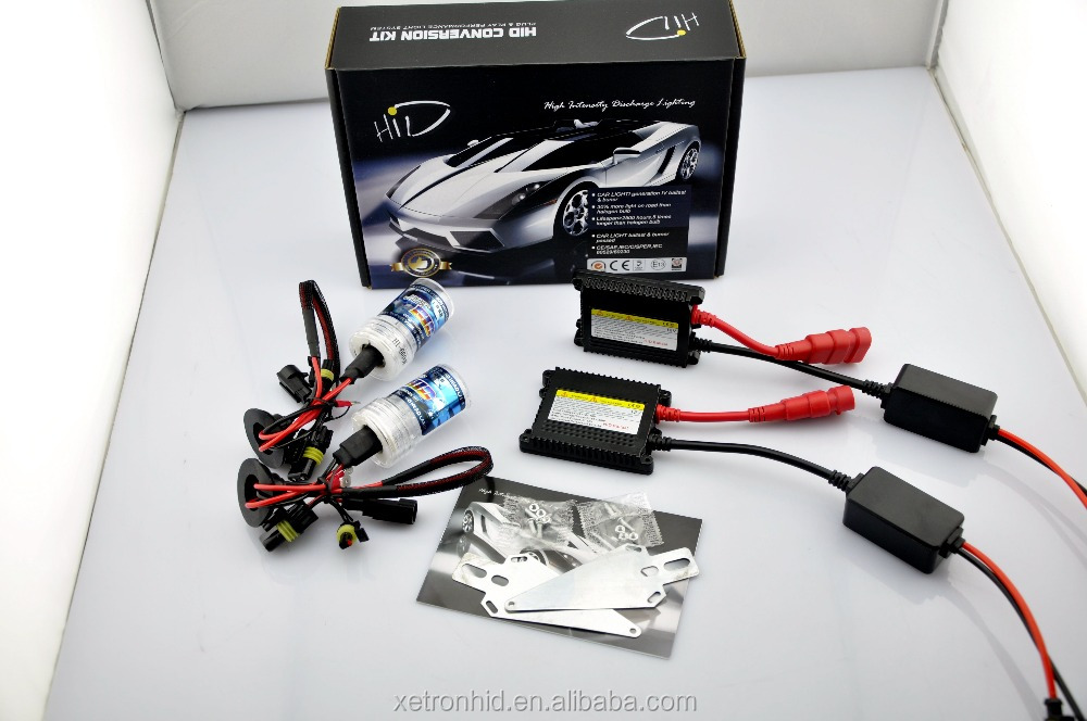 big sale super silm black DC HID Kit no canbus ballast H1 H3 H4 H7 H8 H9 H10 H11 H13 9004 9005 9006 9007 for Car Headlight