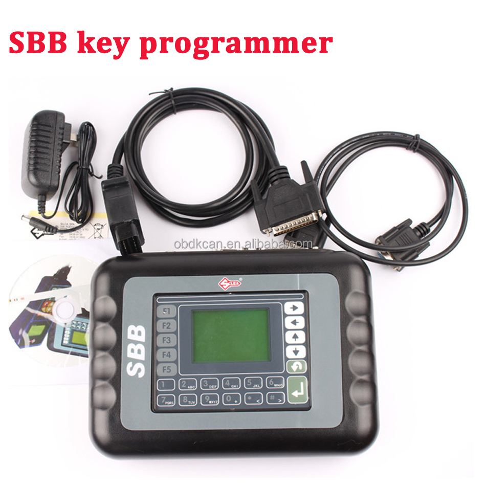 2017 Best Professional SBB V33 Key Programmer obd Auto universal diagnostic cars Key programmer No Tokens Lmited