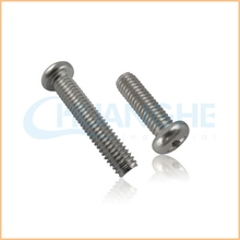 Professional Manufacture steel din 7985 rohs nickel m4 pan head machine screw