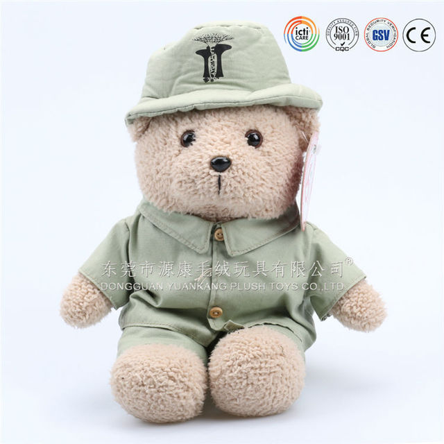 custom stuffed teddy bear toy plush doctor bear toys for promtion gifts