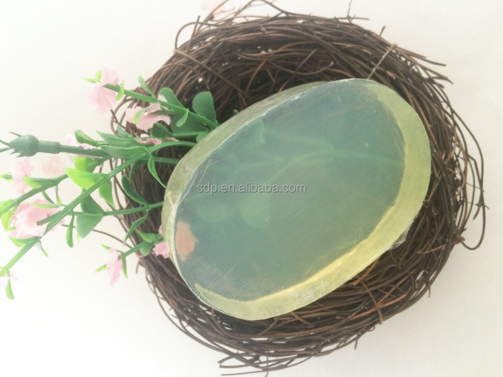 60g 80g Transparent glycerin soap solid glycerin for toilet soaps