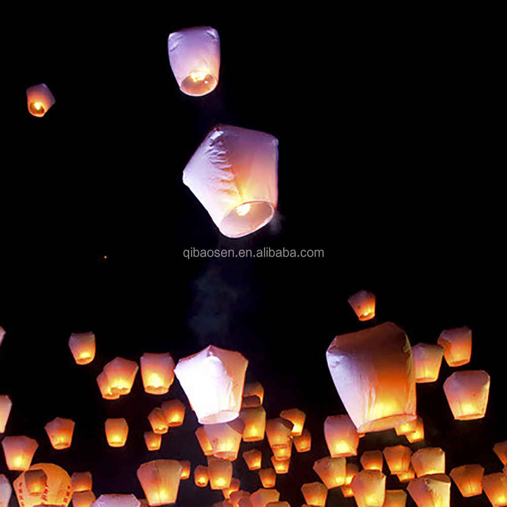 small luminary sky lantern for holiday decoration