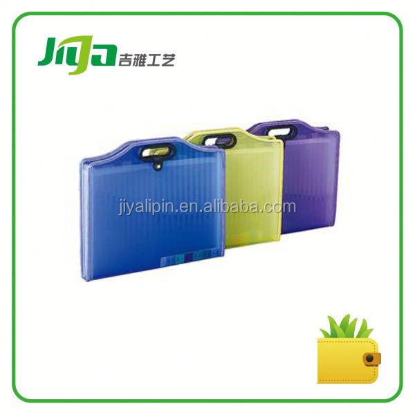 OEM designed pp file folderfor office/school (Jiya craft Gifts co.,ltd)