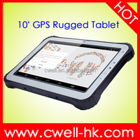 waterproof tablet pc ip65 WCDMA 3G Android 4.4 or window 10 10.1 inch quad core 2GB 32GB GPS/GLONASS 4G LTE NFC Optional