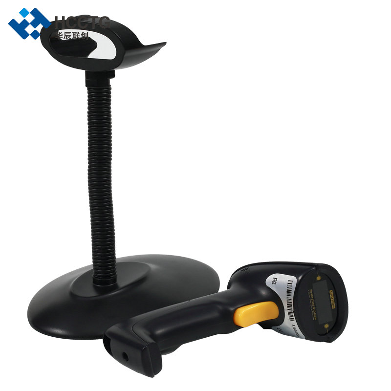 Dustproof Waterproof ABS Cheap Auto 1D Laser Barcode Scanner HS-6100