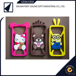 Silicon Material HTC Compatible Brand silicone bumper case for cellphone