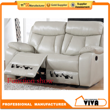 Top Grain Leather Recliner sofa 3 2 1, Alibaba Furniture Sofa Set Design And Price K1607