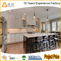 Good Quality American Modular White Kitchen Cabinet