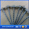 Q195 umbrella head twist shank roofing nails
