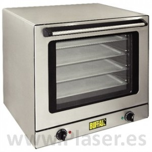 Convection oven with touch cold outside