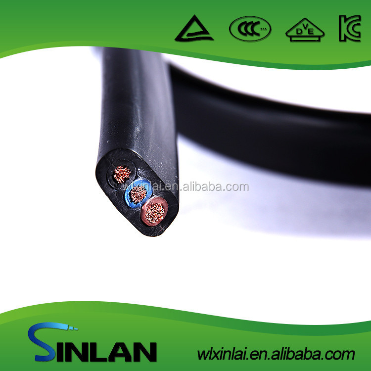 3x6mm flat cable black color
